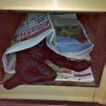 Lamb in Aga blanketed in Irish Farmers Journal