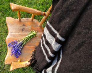 Zwartbles Ireland Travel Rug; 100% Irish Wool
