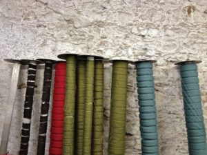 Different Colored Threads Waiting to Get Spun