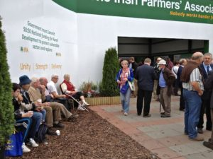 Irish Farmers Association Tent