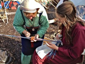 Tablet Weaving A Viking Belt