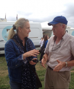 @adhddoyle & Myself Talking about his Experiences Farming in China. Photo Taken by @foodborn