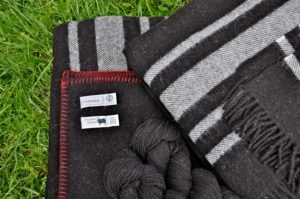Zwartbles Wool Queen Blanket, Travel Rug & Yarn