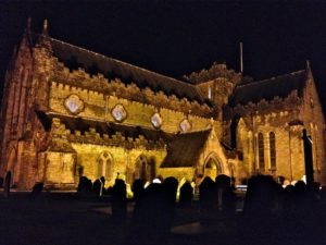 St Canice's Cathedral December 31st 2013 at 11.30pm
