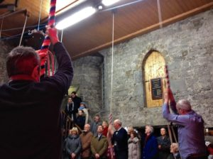 Bell Ringers Ringing in New Year 2014